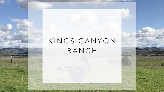 Kings Canyon Ranch: 34 Minute Total Body Workout