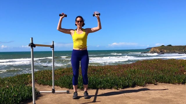 Hearst State Beach: Abs & Arms