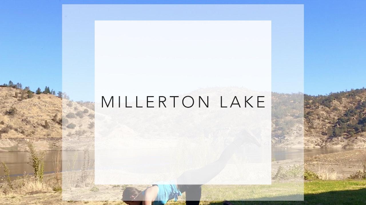 Millerton Lake:18 Minute Lakeside Barre Workout