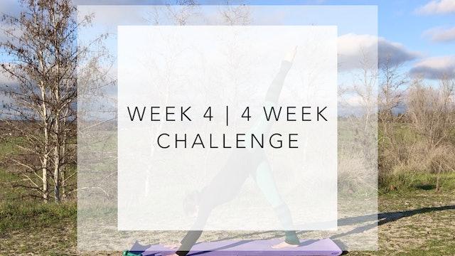 WEEK 4 | 4 WEEK Barre Body Challenge