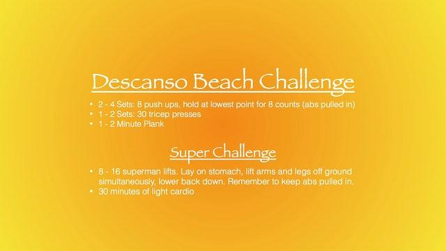 Descanso Beach Challenge
