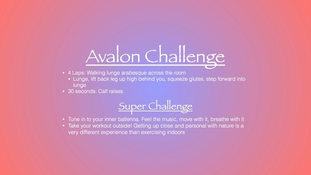 Avalon Challenge