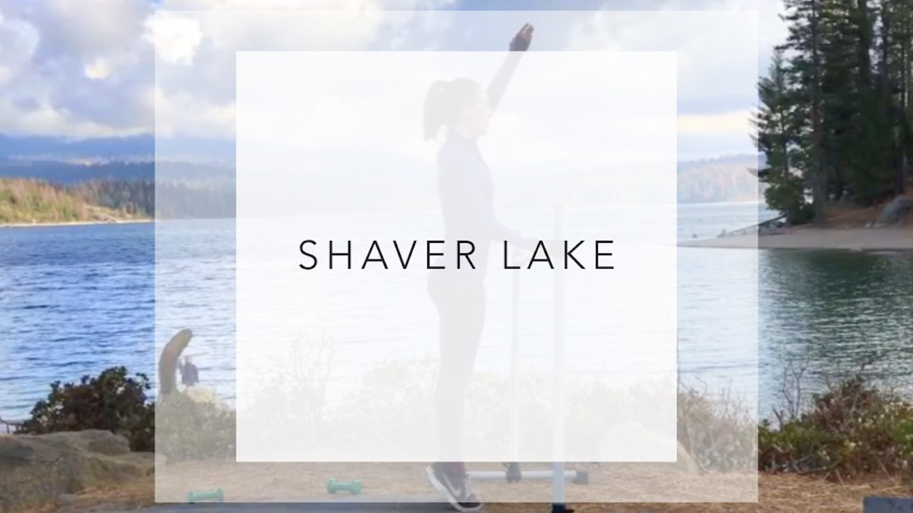 Shaver Lake: 30 Minute Full Barre Class