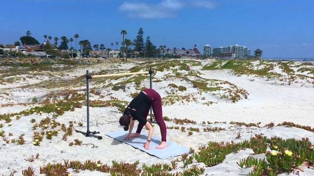 Coronado Dunes Stretch & Legs