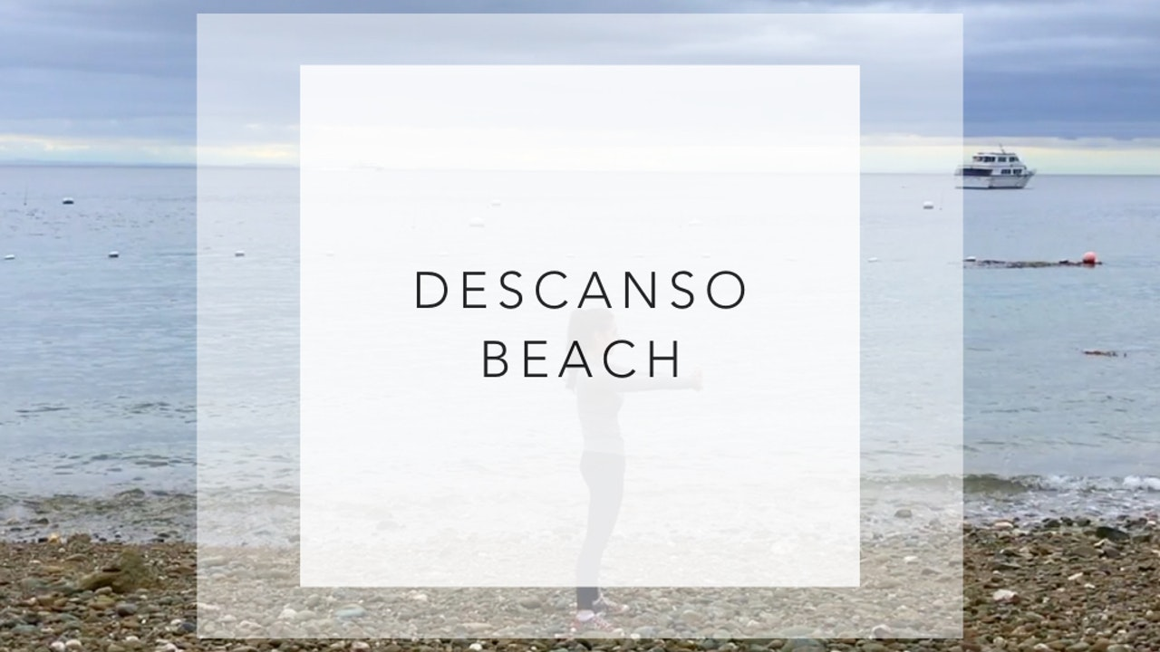 Descanso Beach: 5 Minute Total Body Workout