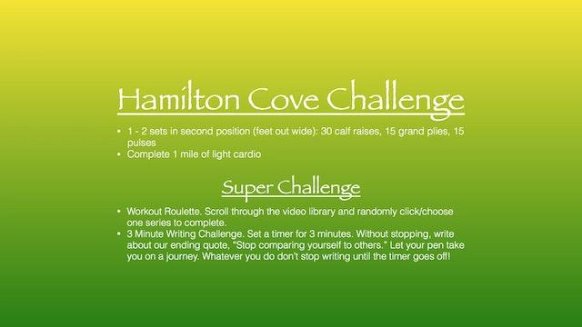 Hamilton Cove Challenge