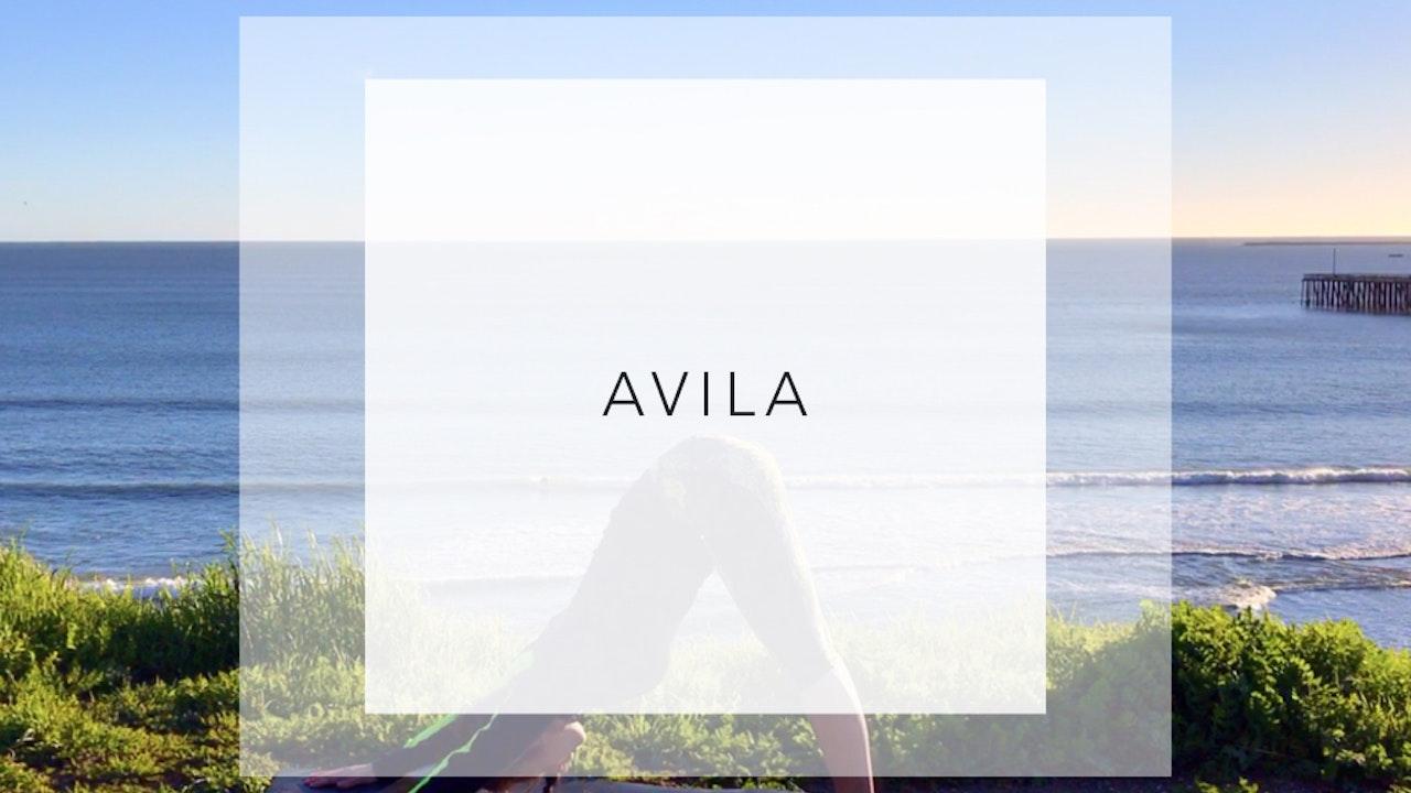Avila: 9 Minute Yoga Workout