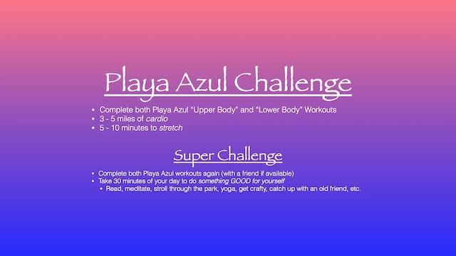 Playa Azul Challenge
