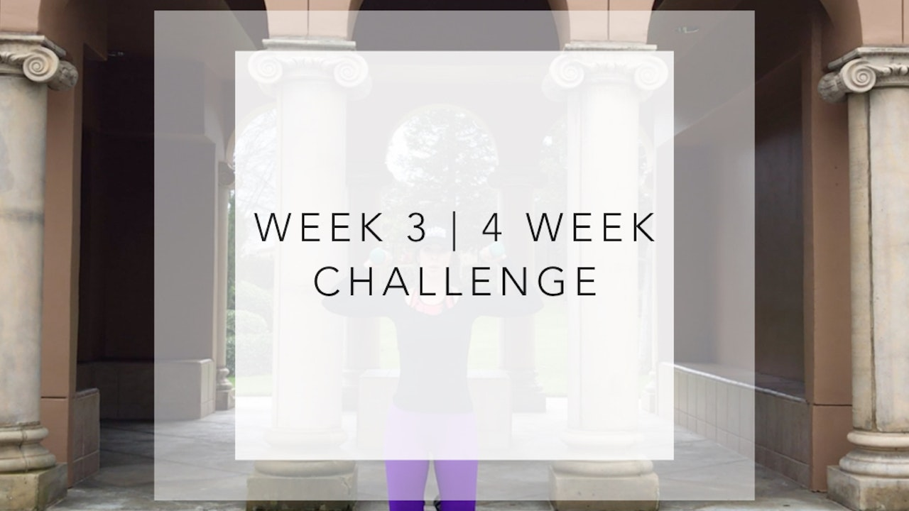 WEEK 3 | 4 Week Barre Body Challenge