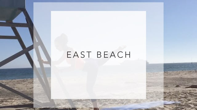 East Beach: 25 Minute Total Barre Workout
