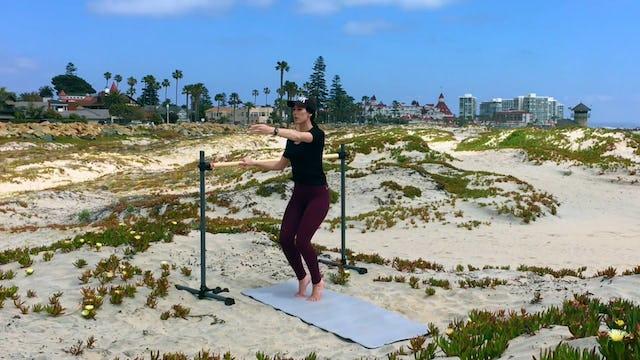Coronado Dunes Warm Up, Legs & Glutes