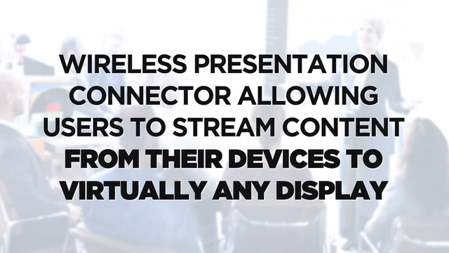 KLIK Communications Innovative Wireless Presentation Solutions