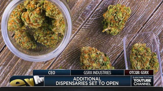 GSRX Industries Growing MJ Business
