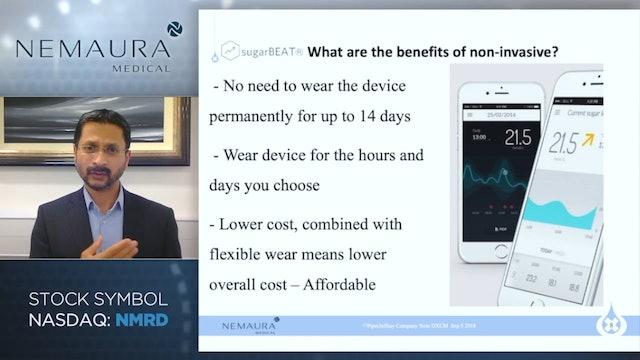 Nemaura Medical (NASDAQ: NMRD)