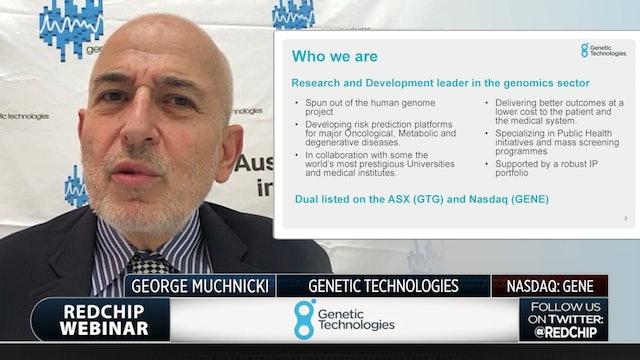 Genetic Technologies December Webinar