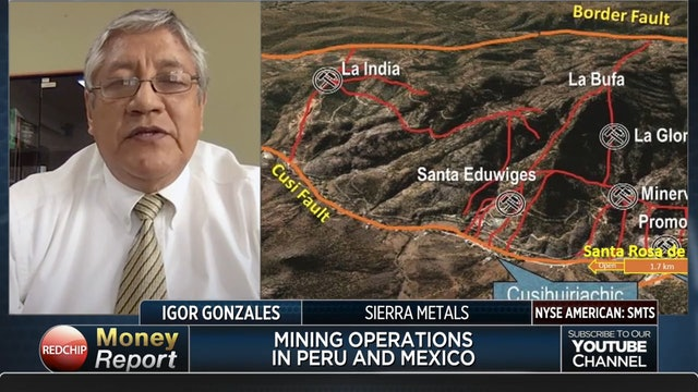 Sierra Metals 11-Year Track Record of Growth; 2020 EBITDA Guidance $109M+