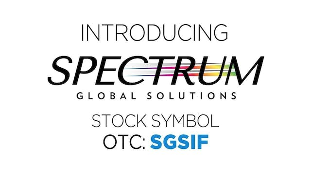 Spectrum Global Solutions, Inc. (OTC:...