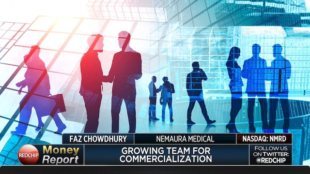 Dr. Faz Chowdhurry, CEO of Nemaura Medical