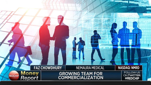 Dr. Faz Chowdhurry, CEO of Nemaura Me...