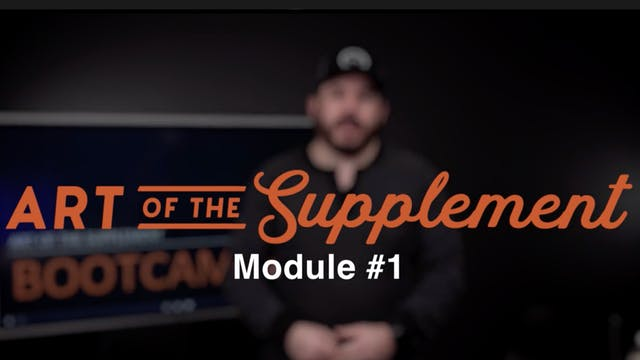 1. The Secret Weapon For Supplementing