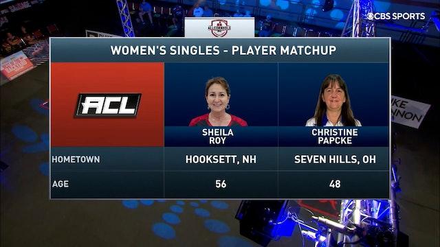 2021 Pro Shootout #7 Christine Papcke vs Sheila Roy