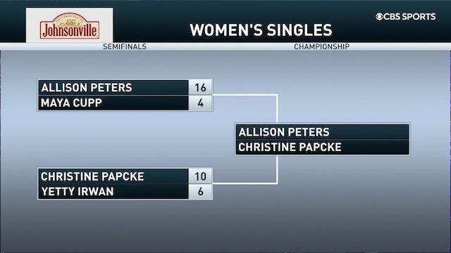 2021 Pro Shootout #6 Allison Peters vs Christine Papcke