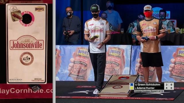 2020 NCCC Doubles Adams-Hunter vs. Schlobohm-Green
