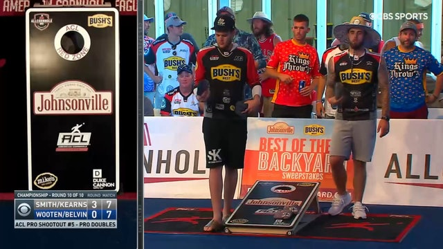 Pro Shootout #5 Wooten and Belvin Doubles Win
