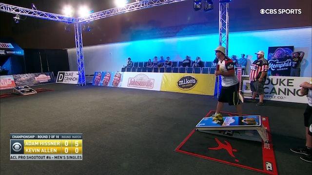 Pro Shootout #6 Adam Hissner Men's Singles Win