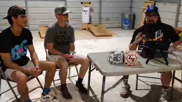 Talk Cornhole You got Rob'd Cobb and Virgilio Interview