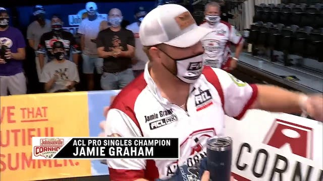Pro Singles World Champ Jamie Graham