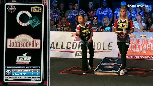 Pro Shootout #4 Kaylee Hunter Women's Singles Win