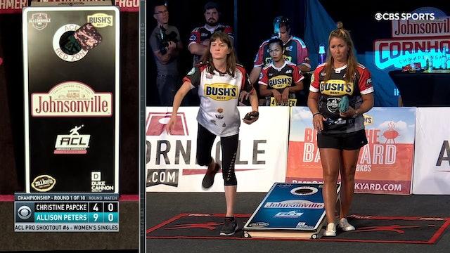 Pro Shootout #6 Allison Peters Women's Win