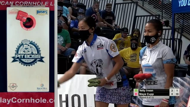 2020 Woman of the Year Irwan vs. Cupp