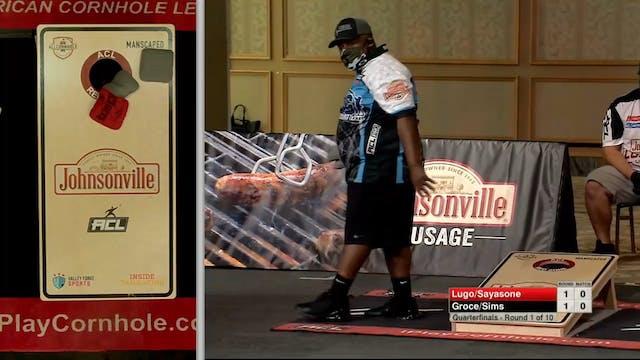 Galveston Qualifier Groce-Sims vs. Lu...