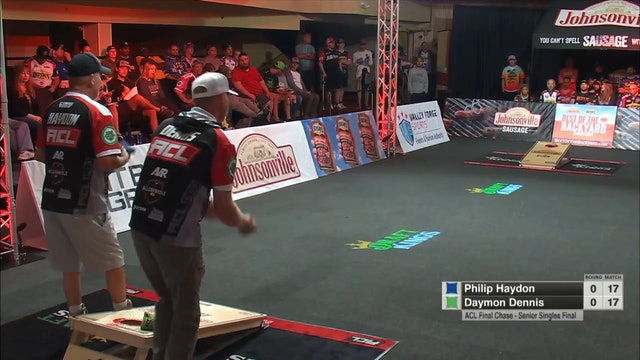 2021 Final Chase Philip Haydon Senior Singles Win