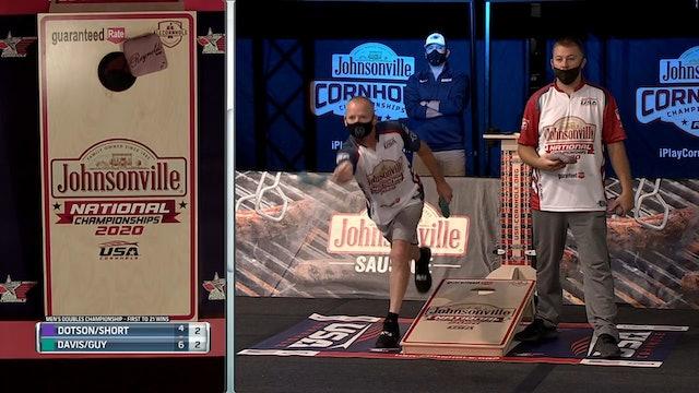2020 USA Cornhole Championships Davis-Guy vs. Dotson-Short
