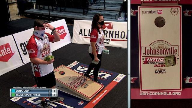 2020 USA Cornhole Championships Cupp-Luna vs. Poythress-Tedder