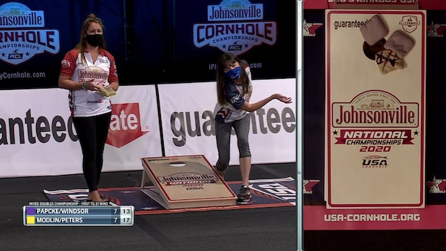 Allison Peters For the Win USA Cornhole