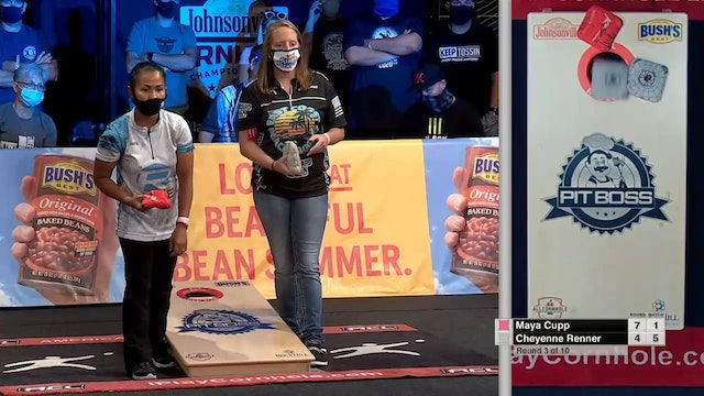 2020 Woman of the Year Renner vs. Cupp