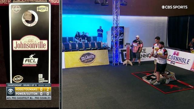 Pro Shootout #6 Power and Sutton Doubles Win