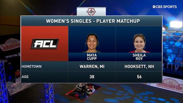 2021 Pro Shootout #7 Sheila Roy vs Maya Cupp