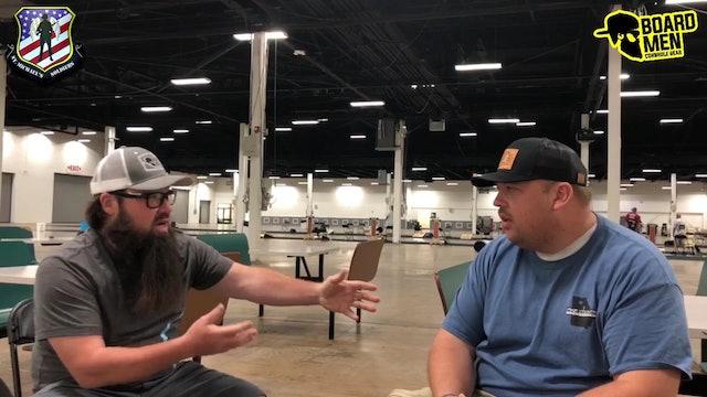 Talk Cornhole Chris Burrell Interview