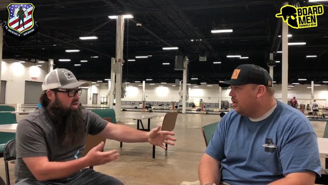 Talk Cornhole Chris Burrell Interview