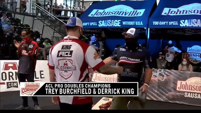 Pro Doubles World Champs King and Burchfield