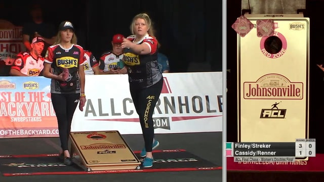 2021 Final Chase Finley and Streker Women's Doubles Win