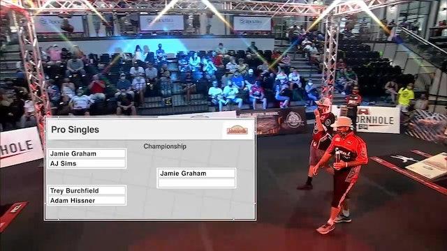 2020 Pro Singles World Championship Burchfield vs. Hissner