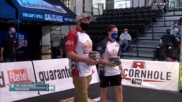 2020 USA Cornhole Championships Trey Burchfield vs. Erick Davis