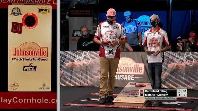 2020 Pro Doubles World Championship Malone-Mcklem vs. King-Burchfield