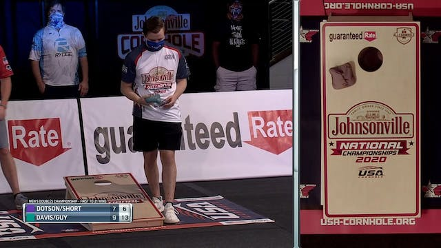 Erick Davis Ridiculous Push USA Cornhole